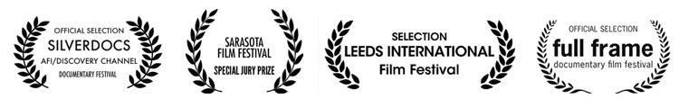 Special Jury Prize at Sarasota Film Festival, Full Frame Film Festival, Silverdocs Film Festival, Leeds Film Festival